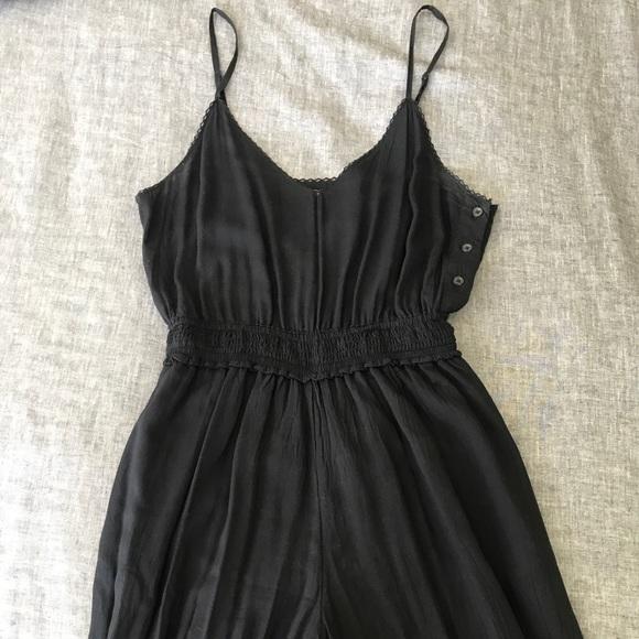 Black size S jumpsuit > Aritzia